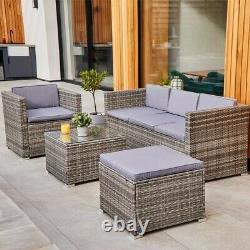 ABLO 5 Seater Rattan Lounge Set