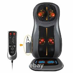 Back Neck Massage Seat Chair Cushion with Heat 3D Finger Pressure & Vibration