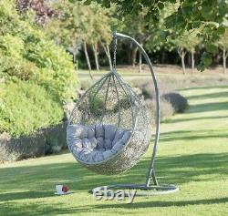 Brand New Siena Single Hanging Egg Chair. Free delivery local delivery