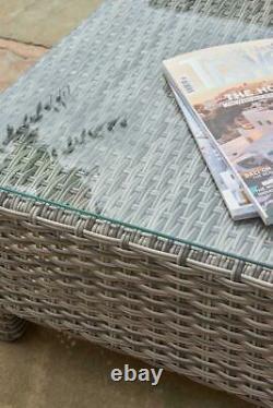 Corner Sofa Sunlounger Rattan Wicker Luxury Garden Bahama 5 Year Warranty