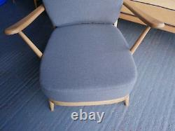 Cushions & Covers Only. Ercol 203 Chair. Mid Grey Stitch from Camira Citadel 833