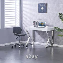 Faux Leather Computer Chair Office Chair Swivel Lift Cushioned Adjustable