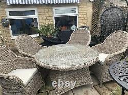 John Lewis Rattan Garden Furniture Set