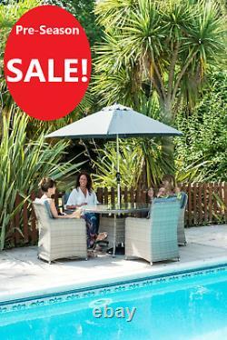 Katie Blake Milan Rattan Garden Furniture Set retail £1399 £799 Save £600
