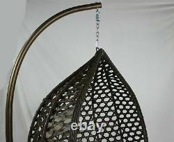 Large Rattan Hanging Egg Chair Cushion Indoor Outdoor Detached Pads Swing Chair