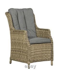 Luxury hi back Comfort six seater garden furniture set (Immediate Delivery)