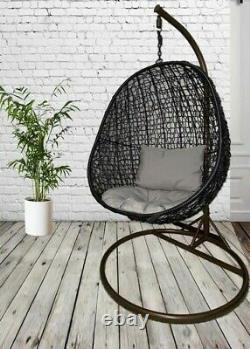 Rattan Egg/Swing Chair Use Indoors or outdoors