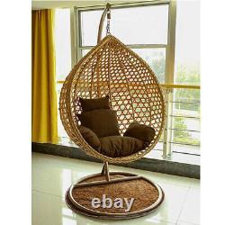 Rattan Garden Egg Chair Hanging Swing Cocoon Outdoor patio Grey/brown/ Wicker