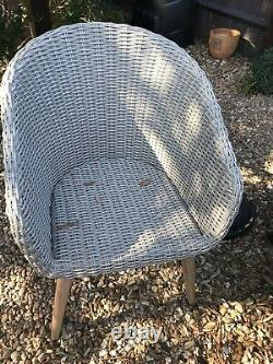 Sol John Lewis Ecalyptus Garden Table And Four Chairs NO CUSHIONS