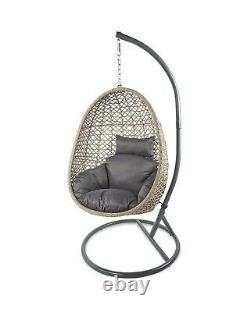 Aldi Gardenline Suspension Egg Chair Brand New & Sealed. Collection Seulement En Main