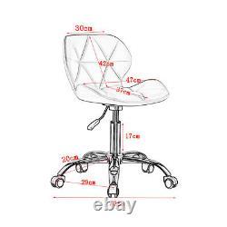 Chaise D'ordinateur En Cuir Faux Chaise De Bureau Swivel Lift Coussin Réglable