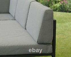 Corner Garden Meubles Aluminium Cadre Convertible Chaise Longues Entièrement Assemblé