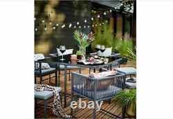 Cube Salle À Manger Jardin Meubles 8 Sièges Patio Ensemble Intérieur/extérieur, Moderne, De Haute Qualité