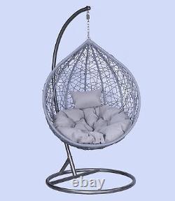Énorme Vente De Haute Qualité Rattan Suspension Egg Chaise Avec Couverture Gratuite