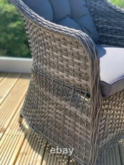 Florida Aluminium Rattan Garden Meubles 4/6 Siège, Garantie De 5 Ans De Haute Qualité