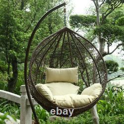 Harrier Hanging Egg Chairs Rattan Swing Garden Seats Gamme De Couleurs/tailles