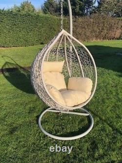 Rattan Swing Patio Garden Tissage Hanging Egg Chair Frame Cushion In Or Outdoor