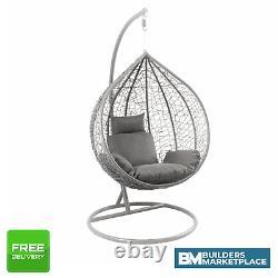 Suspension Chaise D'oeuf Gris Balançoire Chaise D'oeuf Simple Chaise De Jardin