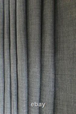 Tissu Rembourré Linge Look Gris Foncé Texturé Coussin De Chaise