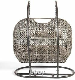Triple Cocoon Egg Chair Rattan Wicker Garden Hammock Swing Fast Livraison Gratuite
