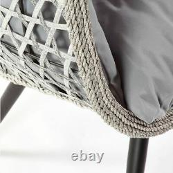 Wicker De Jardin & Rattan Cocoon Double Pod Couddle Chaise