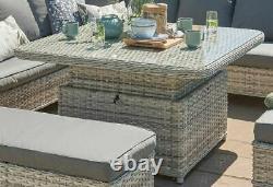 Wroxham Garden Rattan Furniture Par Norfolk Loisirs Tricoté À La Main 3 Styles